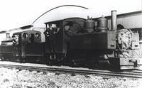 590 and small England loco