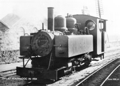 590 at Portmadoc Harbour, 1934