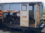 loco with inspection panels removed