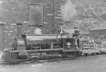 cabless tank engine with slate wagons