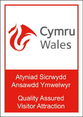 Visit Wales Accredited Attraction